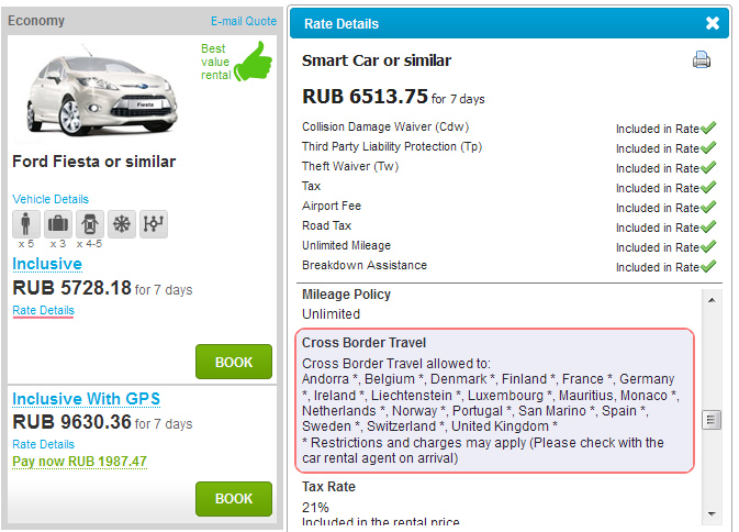 Car Rental Under 21 >> FAQ - Cars Scanner
